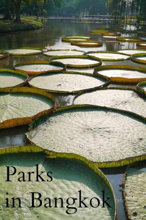 Amazing Bangkok parks