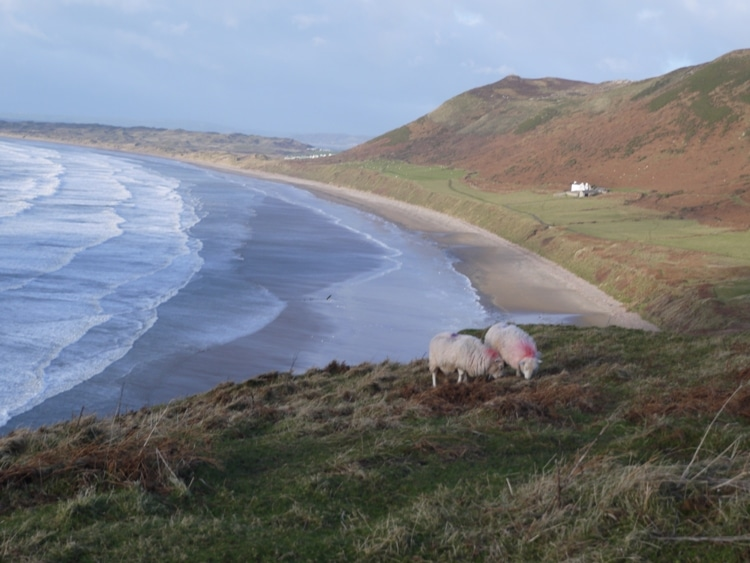 Rhossili Beach In Winter - One Of The World's Top Beaches