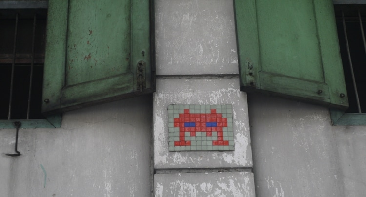 Bangkok's Space Invader