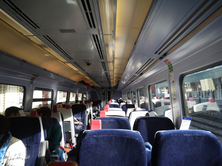 Our First Great Western Train From Cardiff Central To Bath