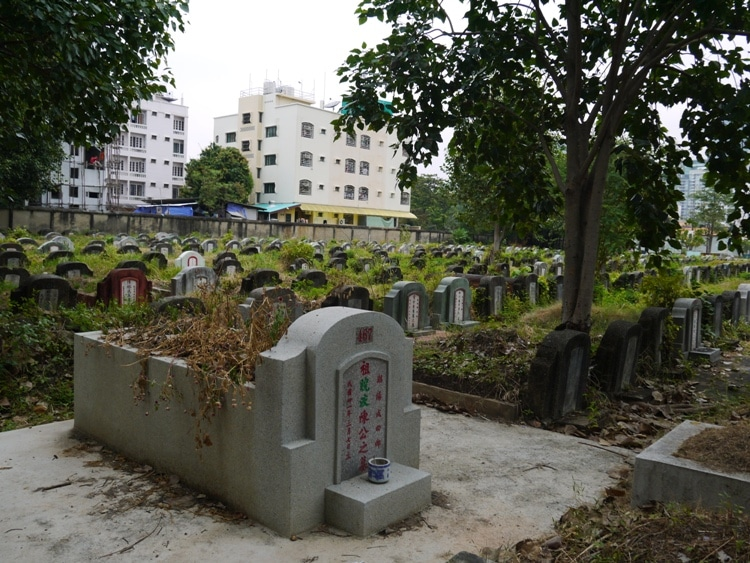 A Larger Grave At Teochew Cemetery, Bangkok