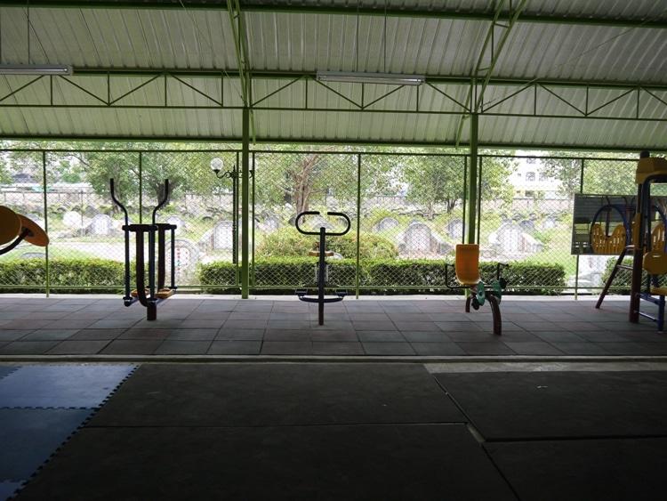 Fitness Center At Teochew Cemetery, Bangkok
