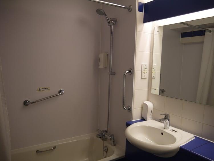 Bathroom At Central Bath Travelodge