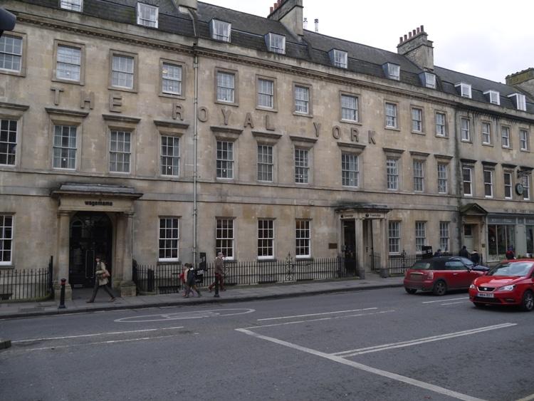 Travelodge, George Street, Bath, England