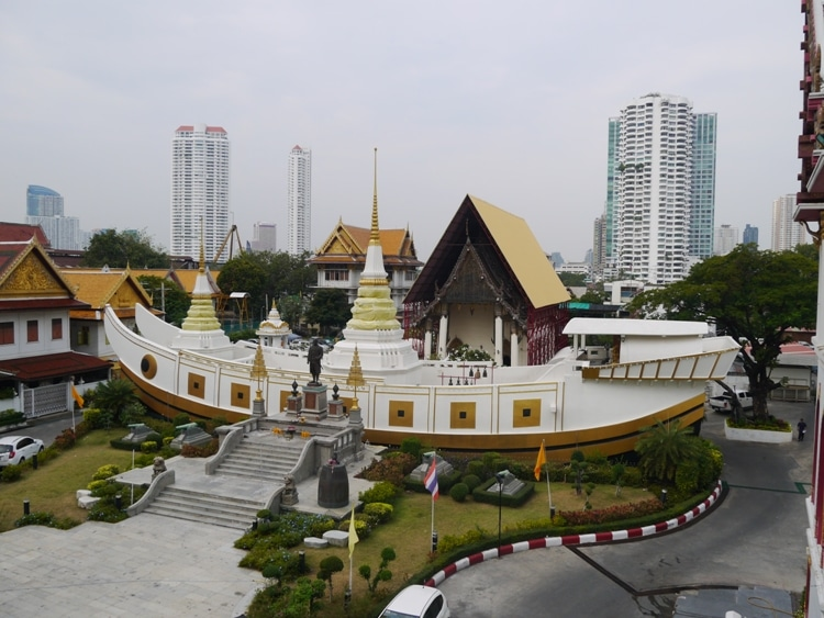 A Temple Shaped Like A Boat