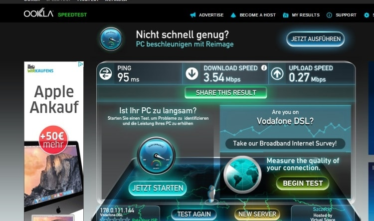 Wifi Speed Test At Our Airbnb Apartment In Mitte, Berlin