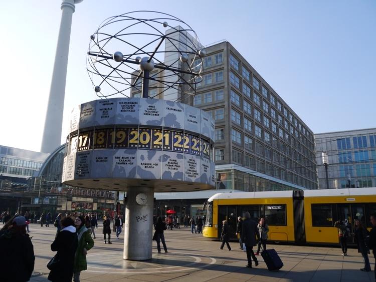 The Weltzeituhr (World Clock) At Alexanderplatz, Berlin