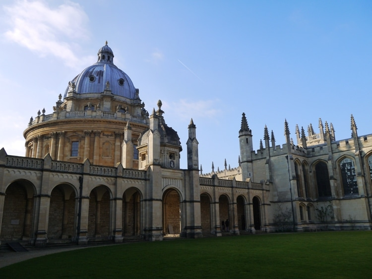 All Souls College Looking Towards Radcliffe Camera