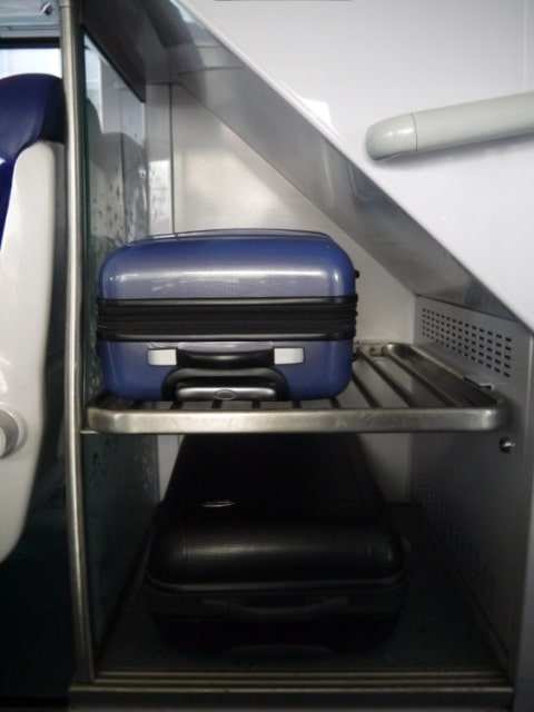 Luggage Rack On Amiens To Lille Train