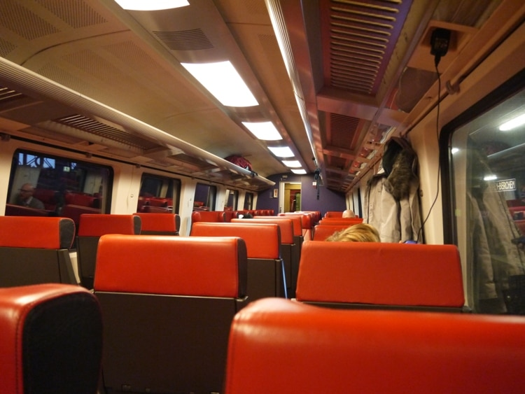 Anvers-Berchem To Rotterdam Train