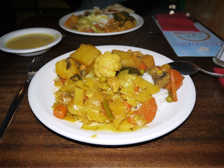 All You Can Eat Vegetarian Buffet At Bombay Aloo, Brighton