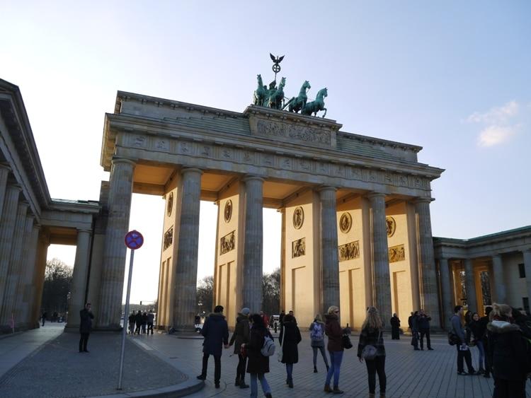 Brandenburg Gate. Berlin