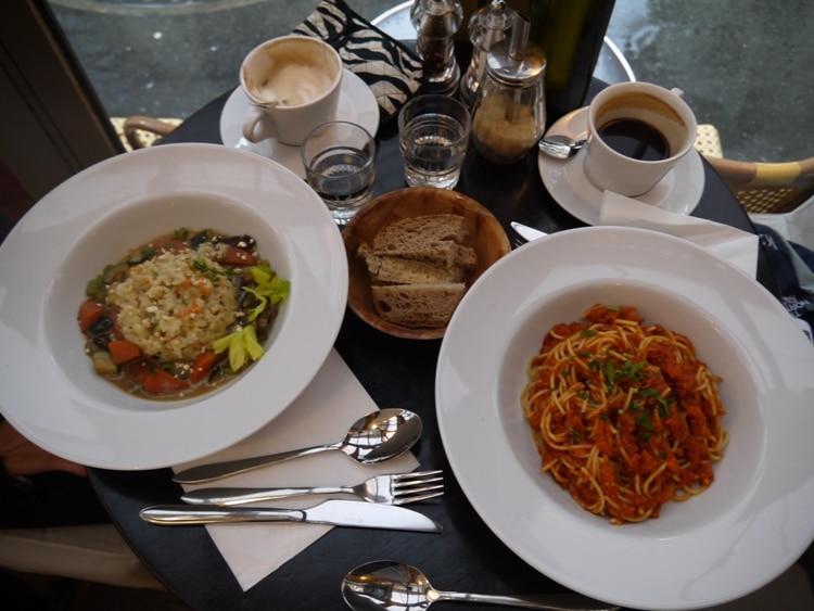 Lunch At Brasserie Lola, Paris