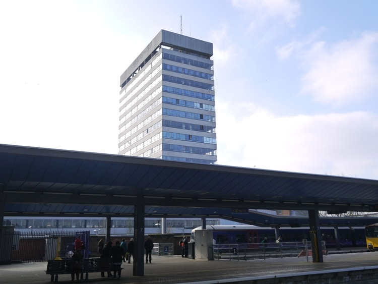 The Former British Rail Offices At Reading