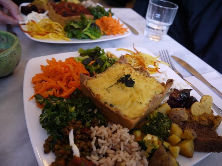 Lunch At Cafe Ginger, Bastille, Paris