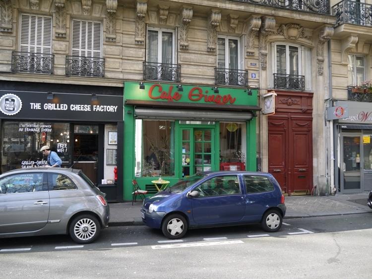 Cafe Ginger, Paris