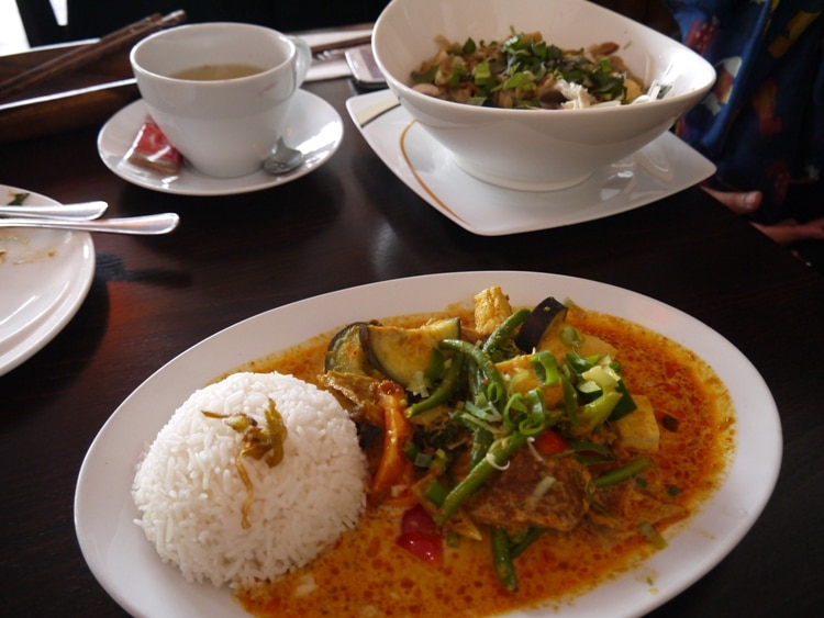 Vietnamese Curry At Chay Viet In Mitte, Berlin