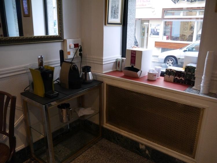 Free Tea & Coffee At Hotel Darcet, Paris