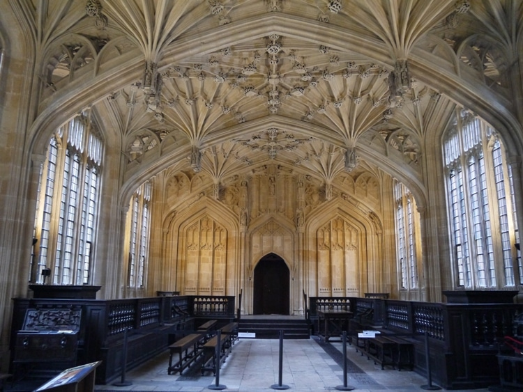 The Divinity School At Bodleian Library, Oxford
