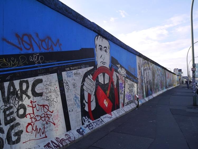 East Side Gallery, Berlin