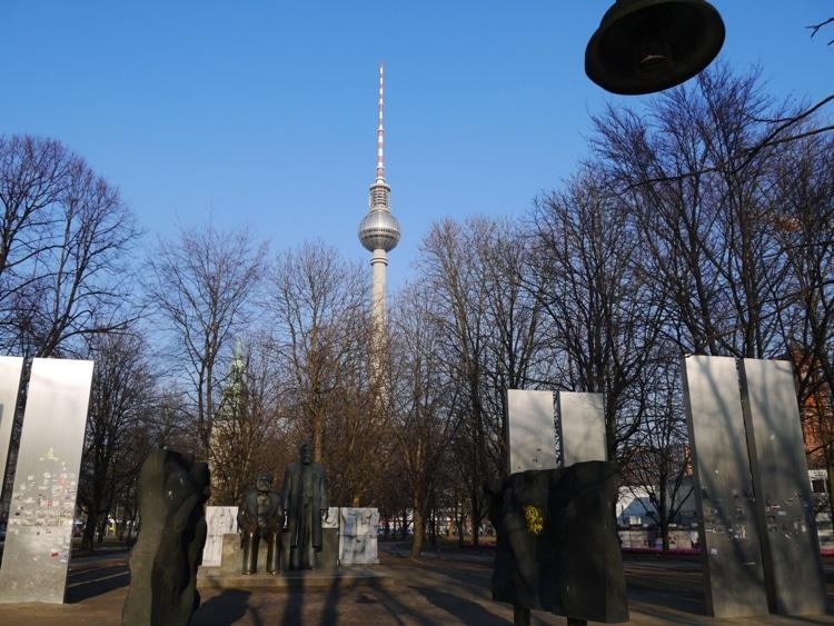 Fernsehturm (TV Tower) At Alexanderplatz, Berlin