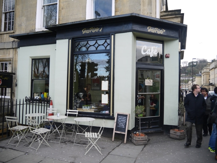 The Green Rocket Cafe, Bath, England