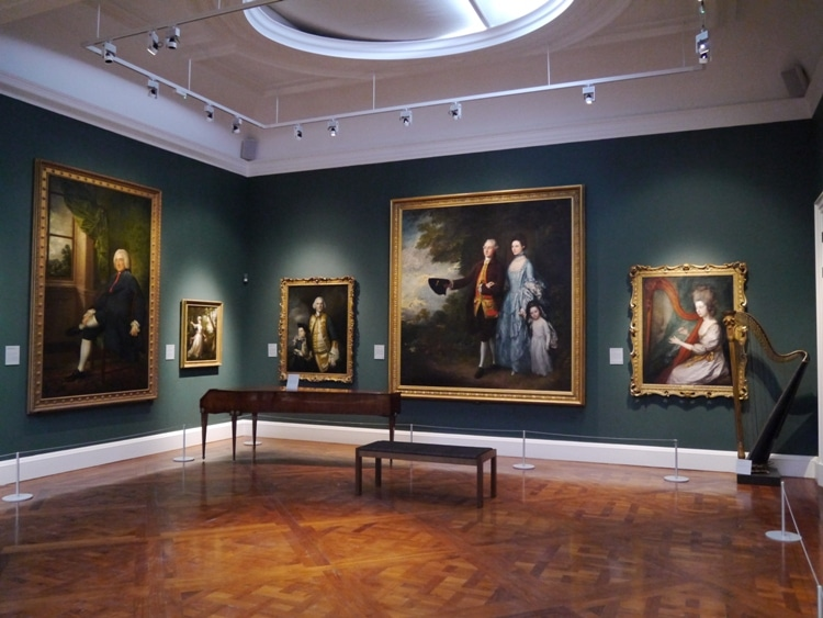 Some Of The Art At Holburne Museum, Bath