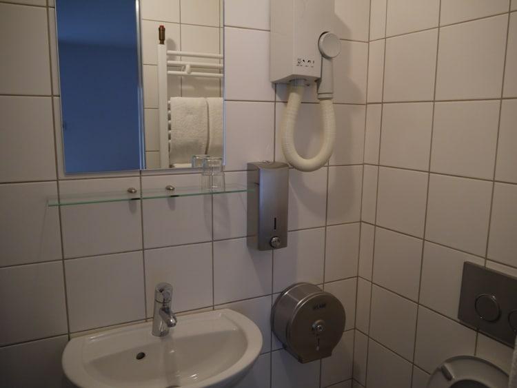Modern & Clean Bathroom At Hotel Darcet, Paris