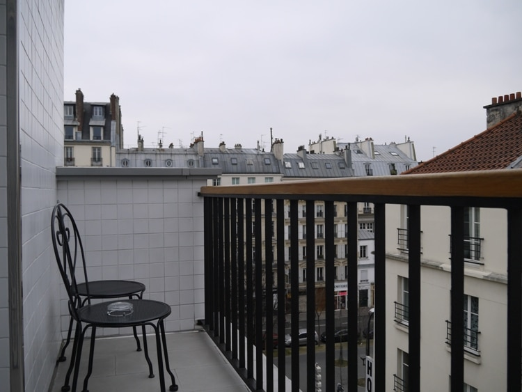 Balcony At Hotel Darcet, Paris
