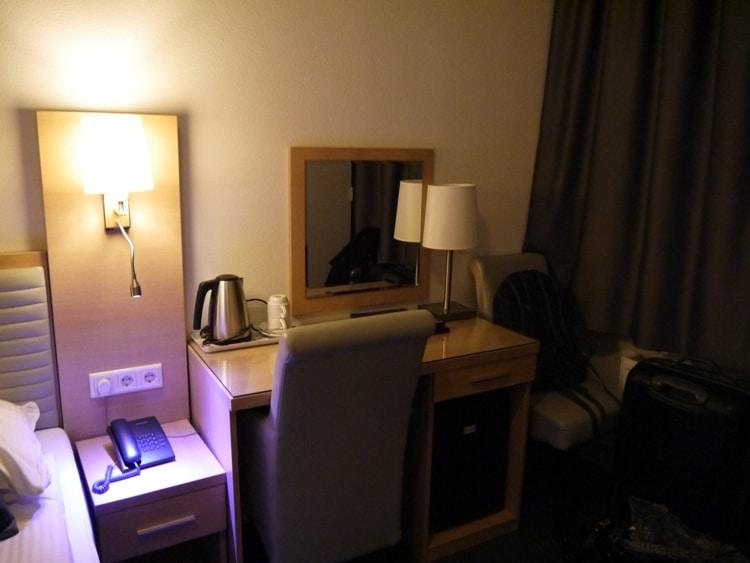 Small Desk At Hotel Allure, Amsterdam