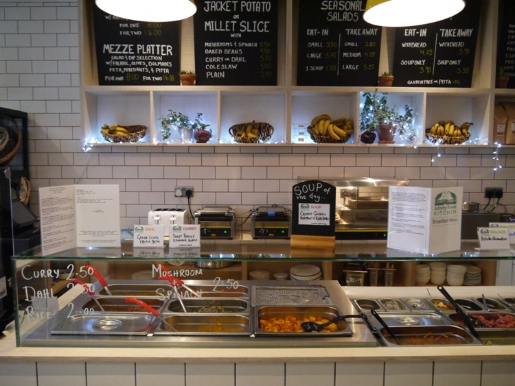 Infinity Foods Cafe Brighton Opening Times