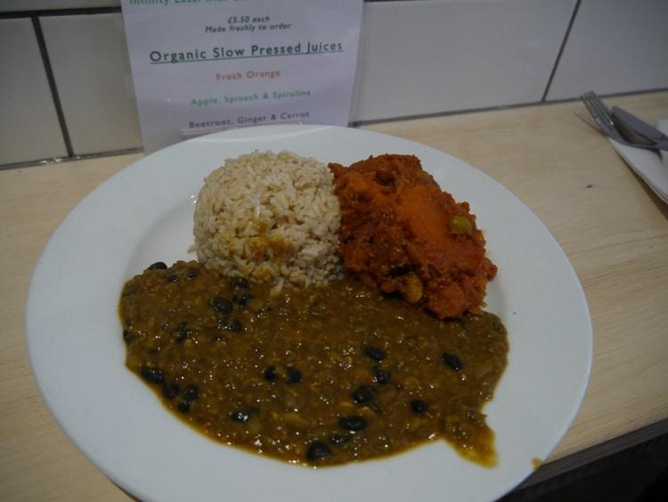 Curry, Dahl & Rice At Infinity Foods Kitchen, Gardner Street, Brighton