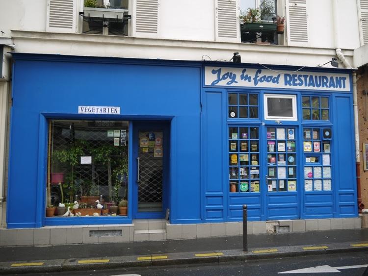 Joy In Food Vegetarian, Place de Clichy, Paris