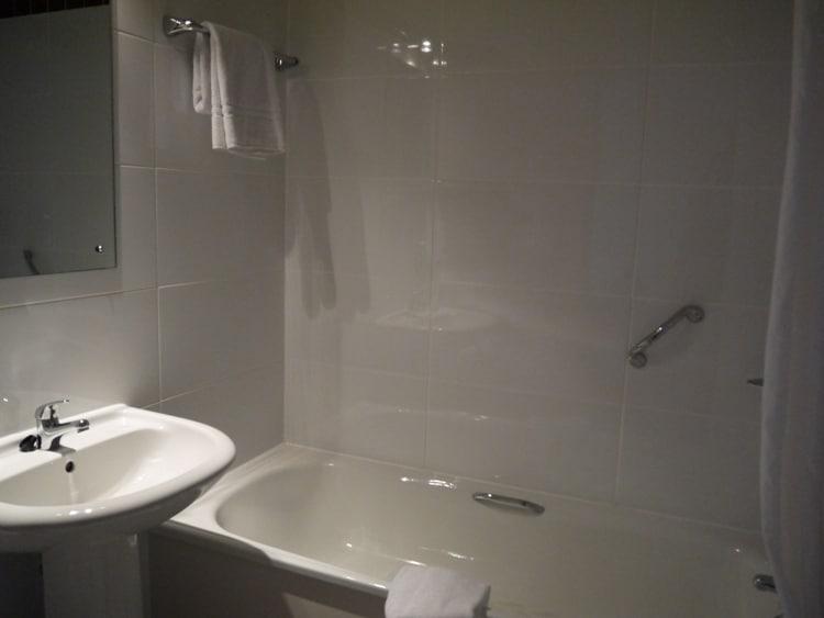 Bathroom At Jurys Inn, Plymouth