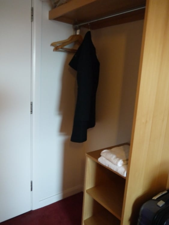 Wardrobe Space At Jurys Inn, Plymouth