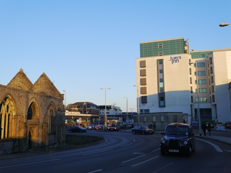Jurys In, Exeter Street, Plymouth