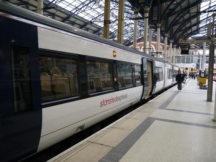 Abellio Greater Anglia Train From London To Cambridge