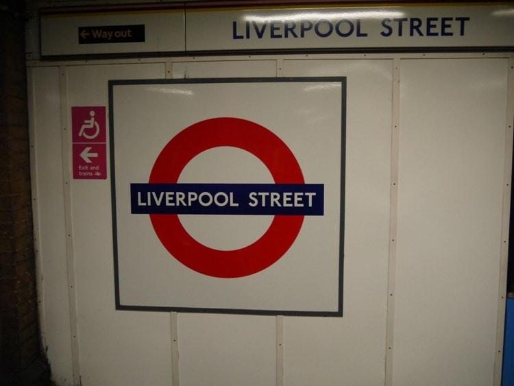 London Underground's Liverpool Street Station
