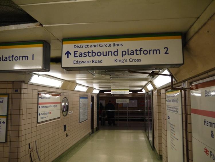 London Underground's Paddington Station