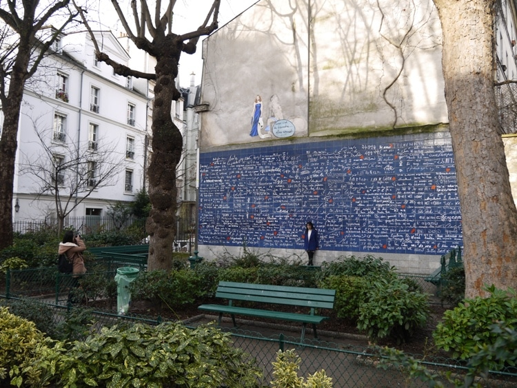 Love Wall, Place des Abbesses, Paris