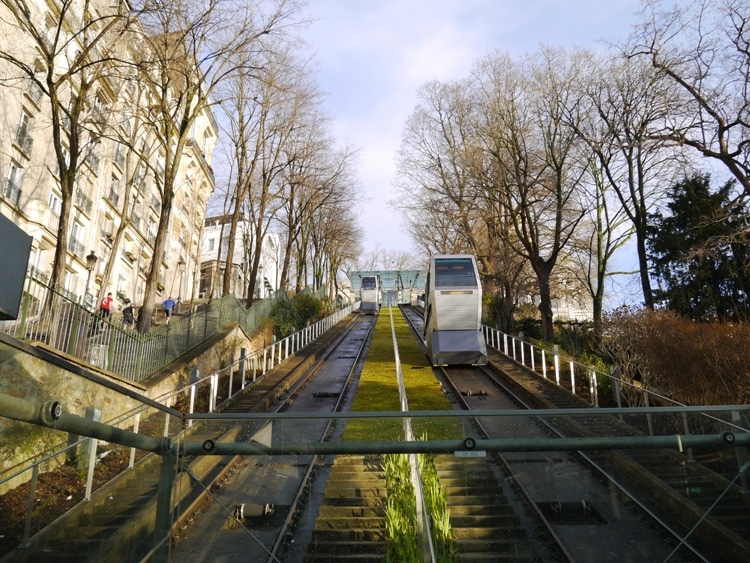 Montmartre Funiculaire To Sacre Coeur