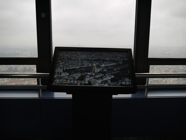 Interactive Displays At Montparnasse Tower, Paris
