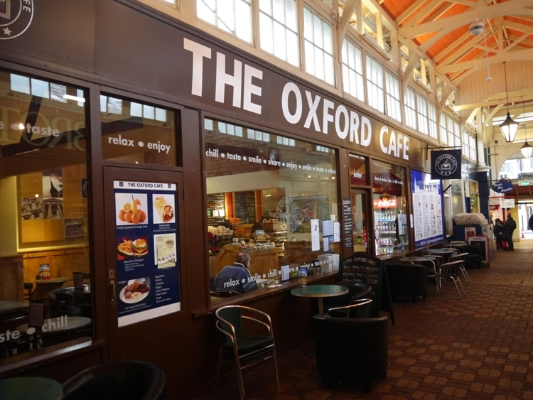 The Oxford Cafe, Oxford Covered Market