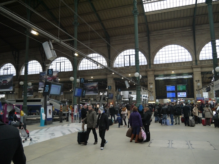 Gare du Nord Station, Paris