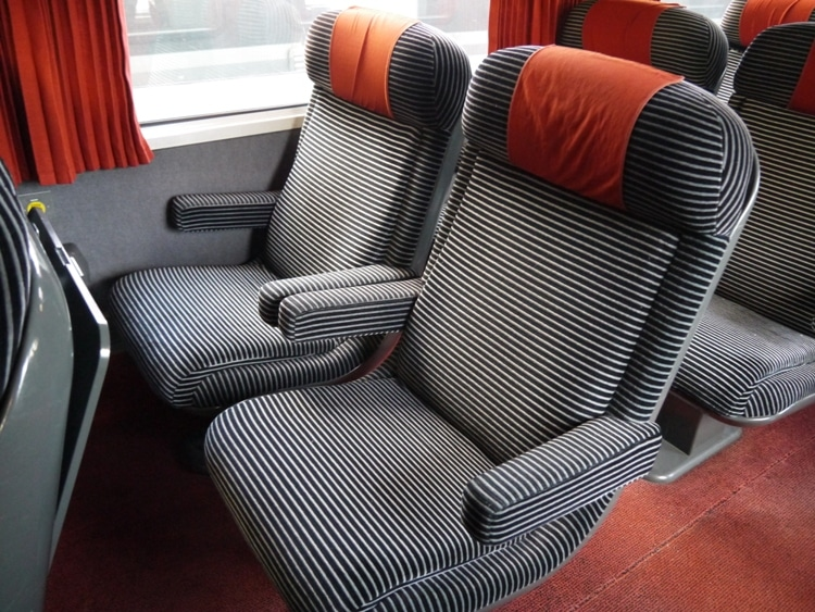 Seats In First Class Carriage