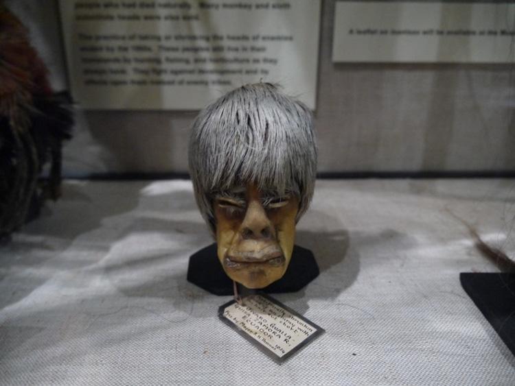 Shrunken Head At Pitt Rivers Museum, Oxford