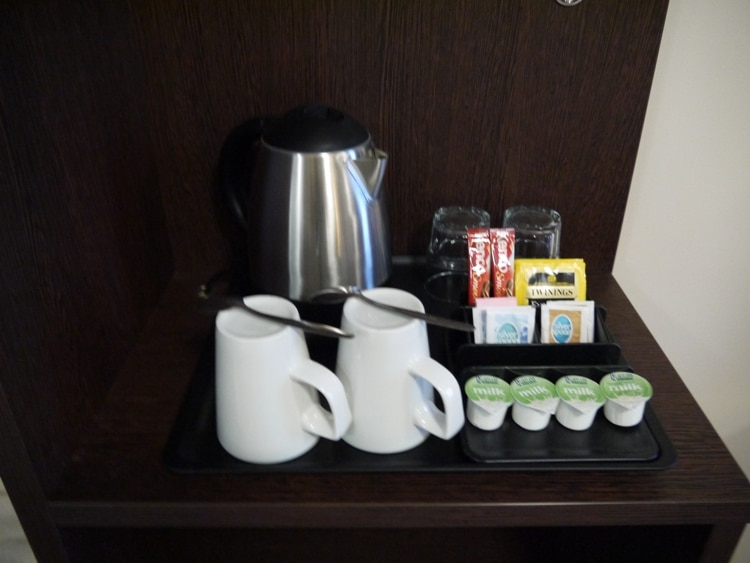 Free Tea & Coffee At Premier Inn, Cambridge