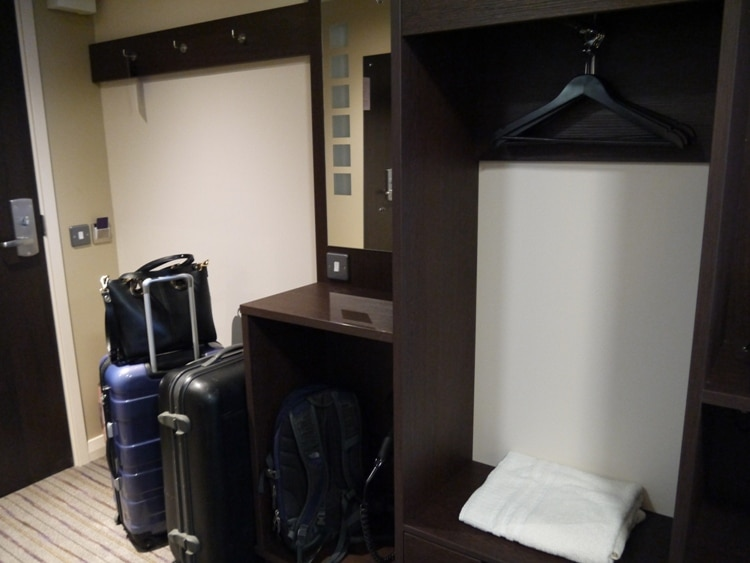 Luggage Storage & Wardrobe At Premier Inn, Cambridge