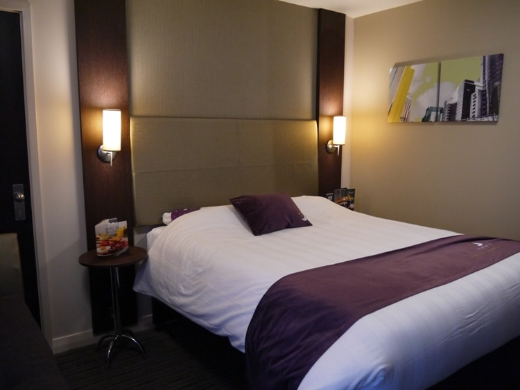 Comfortable Bed At Premier Inn, Cambridge