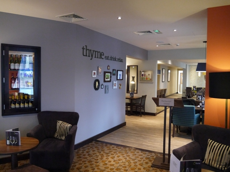 Thyme Restaurant At Premier Inn, Cambridge